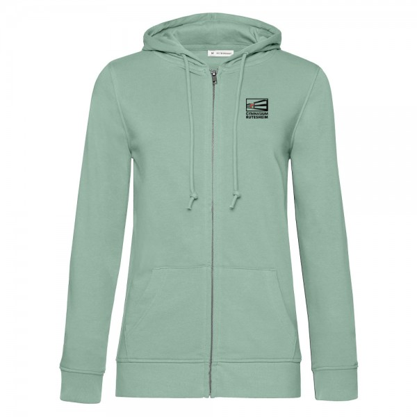 Damen Bio Kapuzen-Sweatjacke ORGANIC Zipped Hood