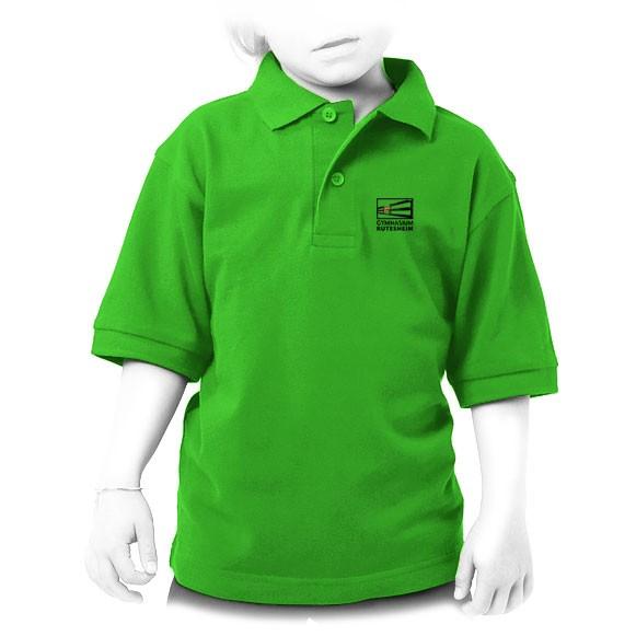 Kinder Piqué Poloshirt 486