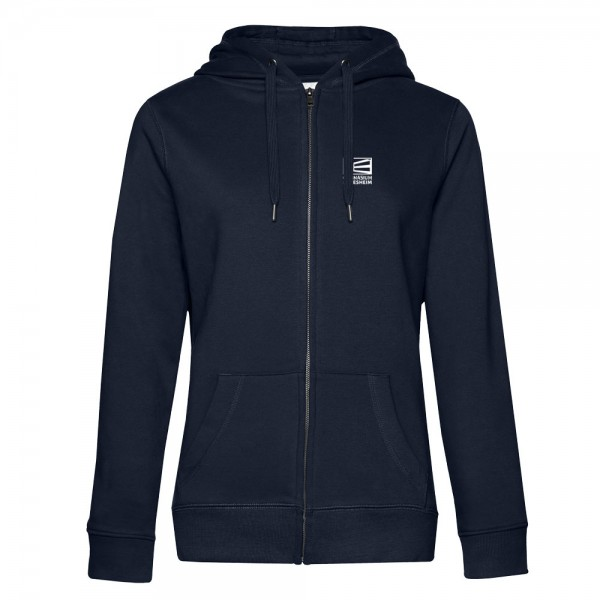 Damen Kapuzen-Sweatjacke QUEEN Zipped Hood
